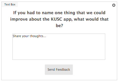 Classical KUSC open-ended survey