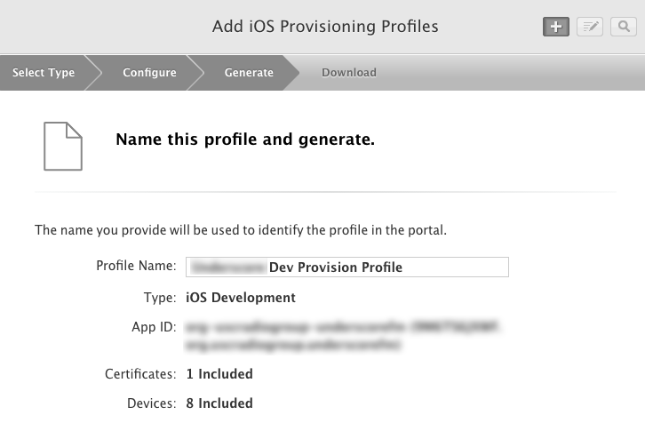 name-provisioning-profile