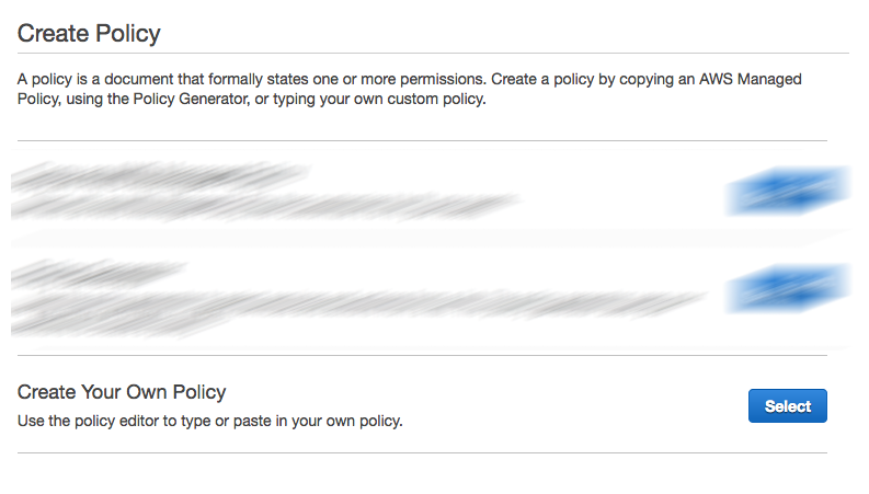 Create a Policy