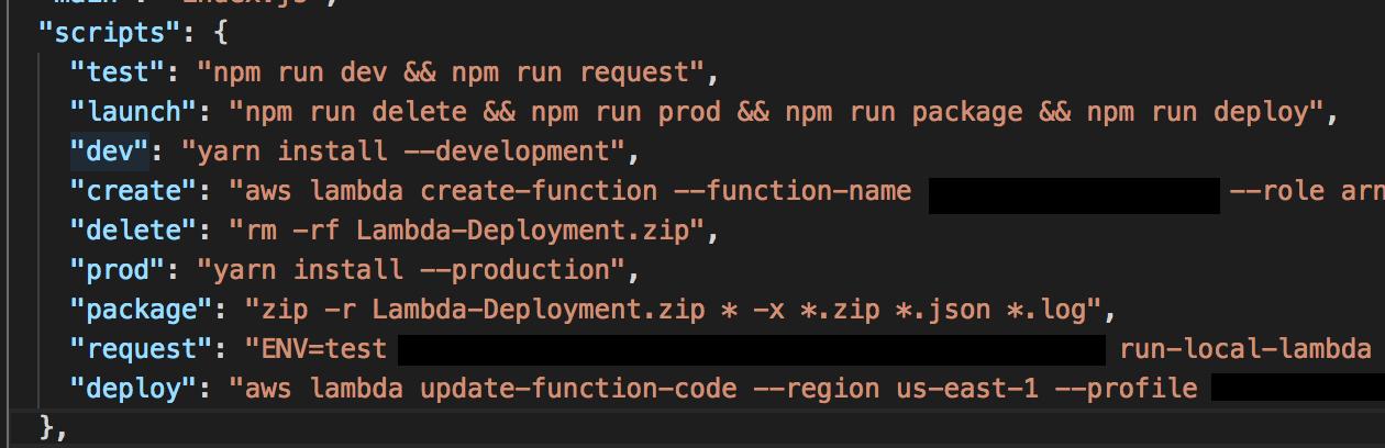 npm-run-lambda
